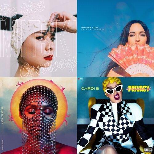 2018年外媒評選必聽25張西洋專輯