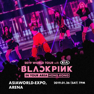 BLACKPINK 2019 WORLD TOUR [IN YOUR AREA] HONG KONG 預習歌單