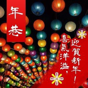 年巷 / 喜氣洋溢,迎賀新年 !