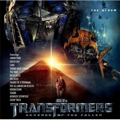 TRANSFORMERS: REVENGE OF THE FALLEN SOUNDTRACK (變形金剛:復仇之戰 電影原聲帶)