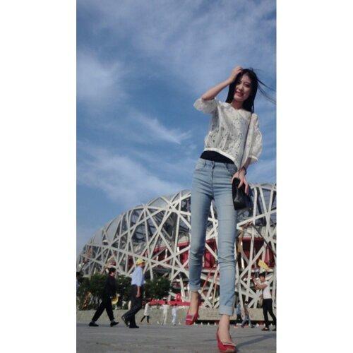 **~北京鳥巢風和日麗**~啦啦啦啦啦**~