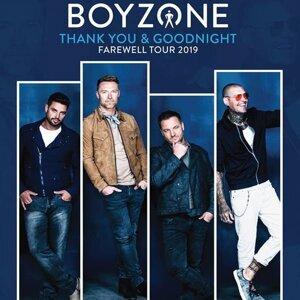 Boyzone「Thank You & Goodnight」告別巡迴演唱會2019香港站歌單