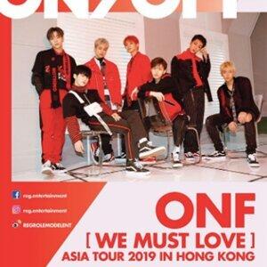 ONF「We Must Love 亞洲巡迴演唱會 2019」香港站預習歌單