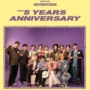 「自給自足偶像」SEVENTEEN 出道五週年快樂!