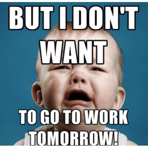 收假症候群:真D不想上班上課