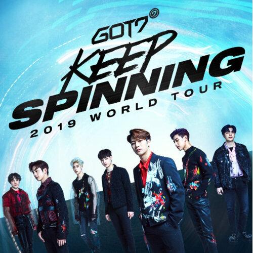 GOT7 2019 Keep Spinning Concert