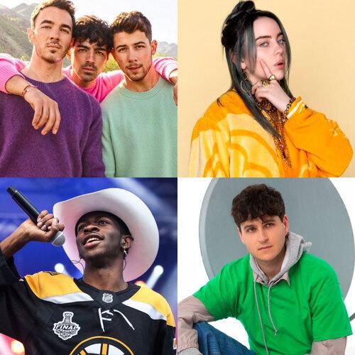 2019 告示牌評選 上半年度Top50金曲