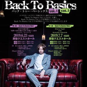 Nicholas Edwards Back To Basics Vol.2 洋楽カバーライブ 2019/7/7