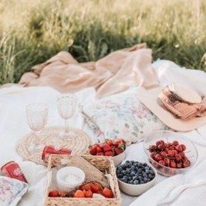 不能出門就在家野餐吧🌝