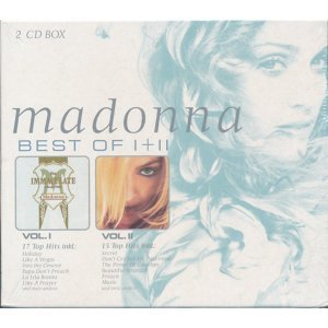 Madonna (瑪丹娜) - Best Of I + II