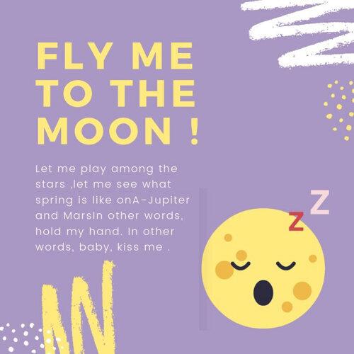 帶我去月球fly me to the moon!