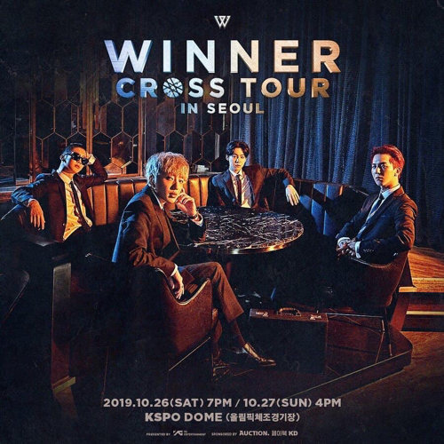 WINNER [CROSS] TOUR IN TAIPEI 演唱會預習歌單
