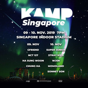 KAMP Singapore Concert Prep List
