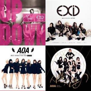 EXID - 歌曲點播排行榜