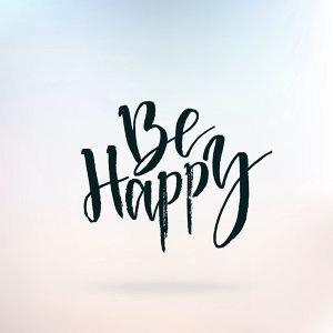 今天應該很快樂