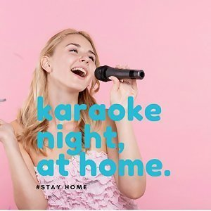 Stay home karaoke night 😏