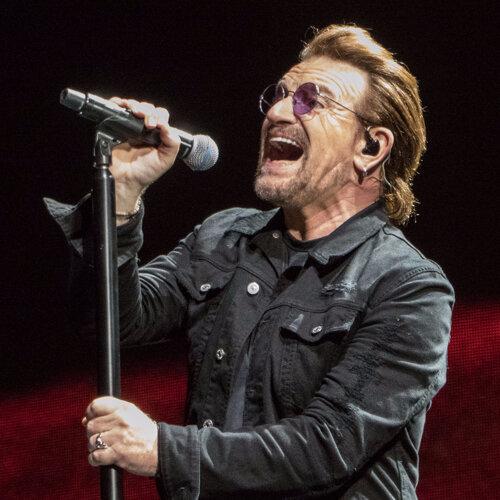 慶祝60大壽!U2主唱Bono分享拯救他的60首歌