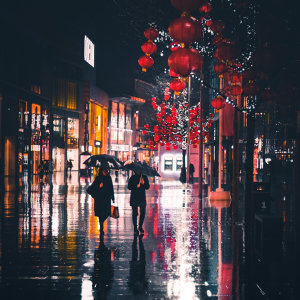 雨天為你撐把傘☔️