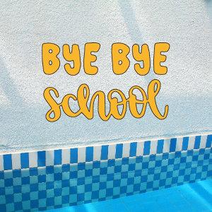 再見了,學校🌞