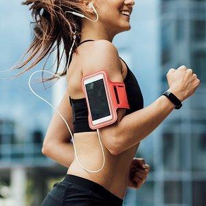 健身跑步!爽快聽歌!