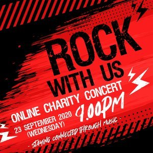 IMC Rock With Us: Online Charity Concert