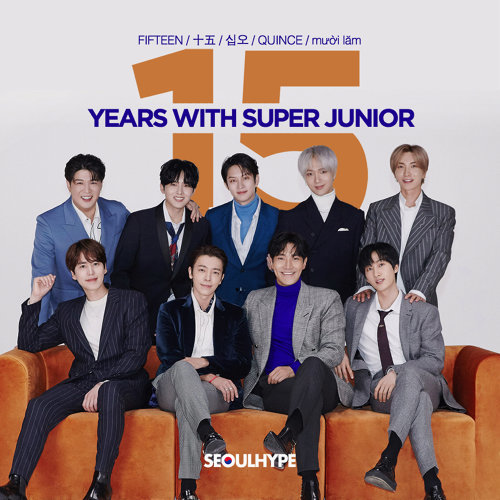 Celebrate: 15 Years With Super Junior