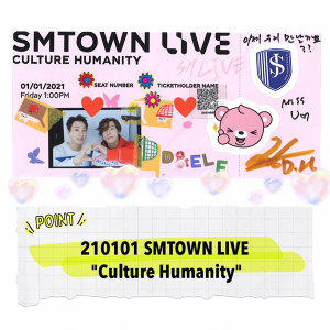 "210101 SMTOWN LIVE ""Culture Humanity"" 線上演唱會歌單"