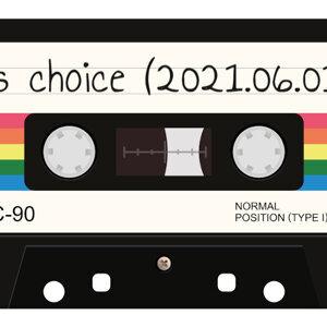 j's choice (2021.06.01)