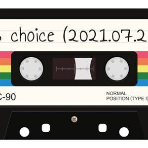 j's choice (2021.07.20)