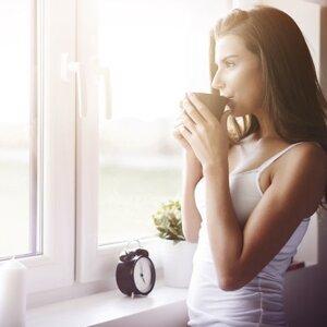 咖啡的香味是醒來的理由