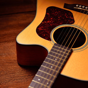 Wood Guitar Melodies for Reading