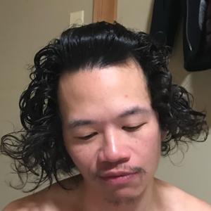 參天沒洗頭  Didn't wash hair for three days