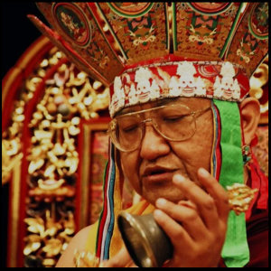 九大高僧珍貴的破瓦法04 -  41任 薩迦法王念誦