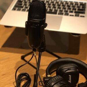購入前聽一下實測吧!鐵三角高性能收音USB麥克風好用嗎~ /  AUDIO-TECHNICA USB Microphone AT9934USB