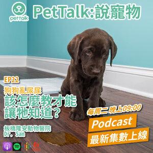 EP22|狗狗亂尿尿,該怎麼教才能讓牠知道? feat. Dr. Sam 獸醫師
