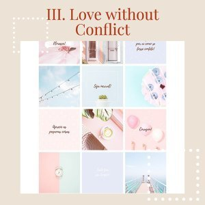 TEST#39   III. Love without Conflict