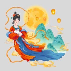 中秋節的傳說 (下) - 嫦娥奔月
