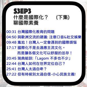 S3EP3 成為世界好公民?台灣人的國際定位?-聊國際素養 ft.瑞典Tony謝 陪你聊整夜