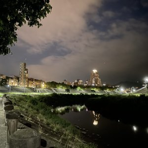 晚安 秋風的河岸