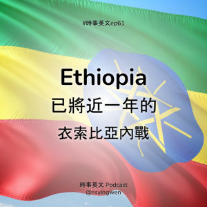 #61 🇪🇹 Ethiopia: 已將近一年的衣索比亞內戰